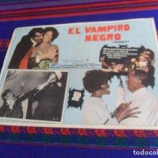 Cine: CARTEL EL VAMPIRO NEGRO BLACULA CON WILLIAM MARSHALL Y DIRIGIDA POR WILLIAM CRAIN. 42X31 CMS. RARO.. Lote 167539616