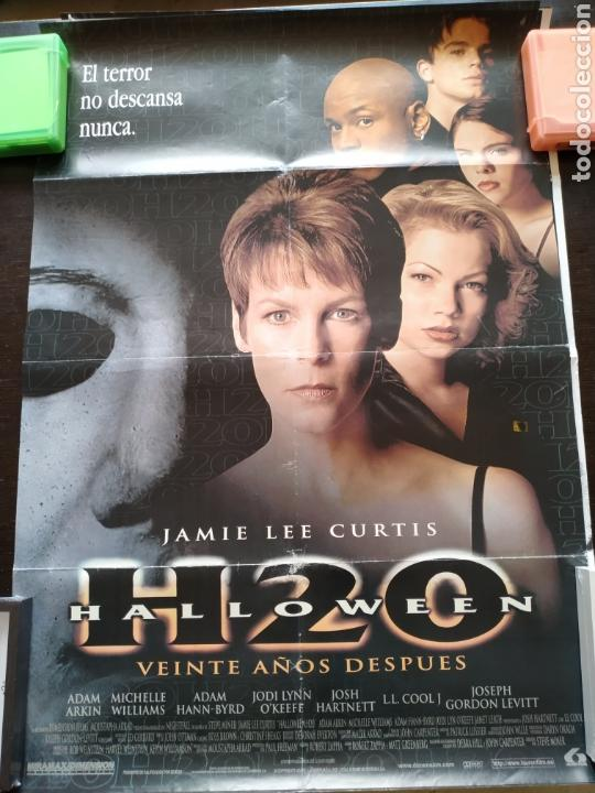 POSTER HALLOWEEN H20 -DOBLADO- 70X100 (Cine - Posters y Carteles - Terror)