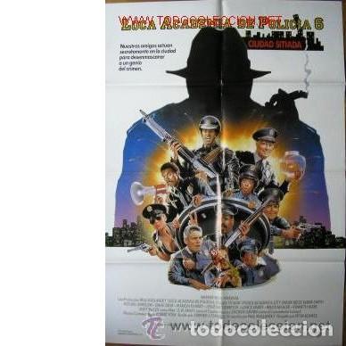 CARTEL LOCA ACADEMIA DE POLICÍA 6 (Cine - Posters y Carteles - Comedia)