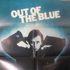 Cine: CAIDO DEL CIELO OUT OF THE BLUE - DENNIS HOPPER - POSTER ORIGINAL ESPAÑOL - ENVIO GRATIS. Lote 167608936