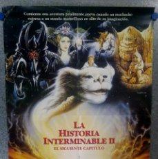 Cine: LA HISTORIA INTERMINABLE 2. EL SIGUIENTE CAPÍTULO. JONATHAN BRANDIS, KENNY MORRISON POSTER ORIGINAL. Lote 167737728