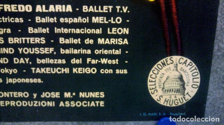 Cine: SUPERESPECTACULOS DEL MUNDO. ROBERTO BIANCHI JOSE MARIA NUNES, LOS SIREX AÑO 1963. POSTER ORIGINAL - Foto 6 - 167739980