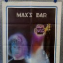 Cine: MAX'S BAR. JOHN SAVAGE, DIANA SCARWID AÑO 1981. POSTER ORIGINAL. Lote 167830976