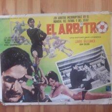 Cine: EL ARBITRO CARTEL CINE PELICULA BUZZANCA JOAN COLLINS APOLO FUTBOL DEPORTES EN CARTON. Lote 168081296