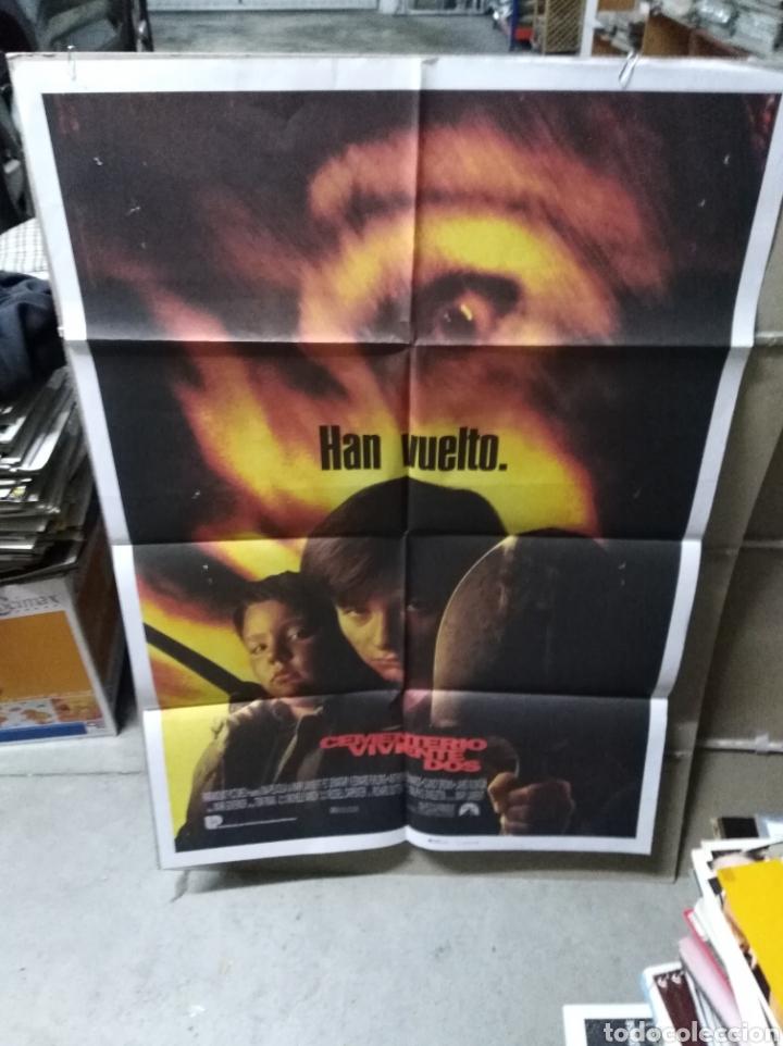 CEMENTERIO VIVIENTE DOS POSTER ORIGINAL 70X100 Q (Cine - Posters y Carteles - Terror)