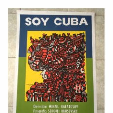 Cine: CARTEL ORIGINAL DOCUMENTAL CUBANO SOY CUBA. Lote 168178828