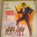 Cine: ANTIGUO CARTEL POSTER CINE ORIGINAL PELICULA CURRO JIMENEZ. Lote 168196448