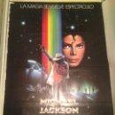 Cine: ANTIGUO CARTEL POSTER CINE ORIGINAL PELICULA MICHAEL JACKSON MOONWALKER. Lote 168199060