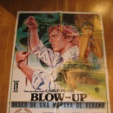 Cine: BLOW UP, MICHELANGELO ANTONIONI, VANESSA REDGRAVE, DAVID HEMMINGS, SARAH MILES. Lote 168374706