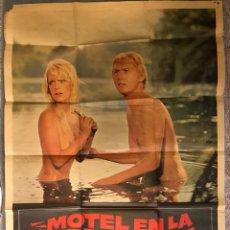 Cine: CINE. CARTEL MOTEL EN LA CARRETERA. DIRIGIDA POR JOHN HILBARD (A.1972). Lote 168846677