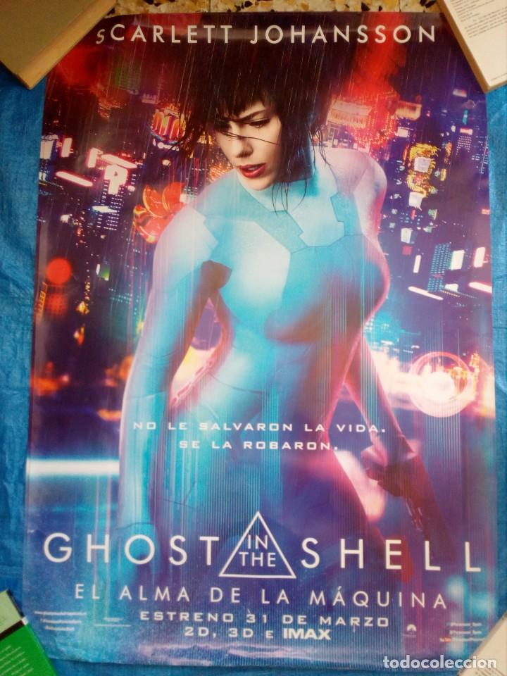 Cartel Cine Ghost In The Shell Scarlett Johan Buy Action Film Posters At Todocoleccion 169116316