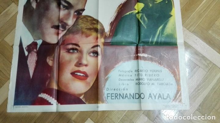 Cine: POSTER AYER FUE PRIMAVERA CON ROBERTO ESCALADA Y ANALIA GADE, MEDIDAS 73 X 110 CM - Foto 3 - 169150500
