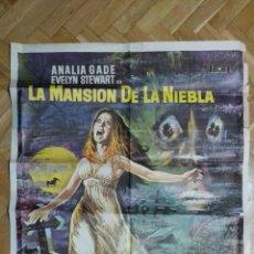 Cine: POSTER LA MANSION DE LA NIEBLA CON ANALIA GADE EVELYN STEWART MEDIDAS 70 X 100 CM. Lote 169153988