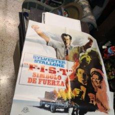 Cine: CARTEL DE CINE- MOVIE POSTER. FIST. SIMBOLO DE FUERZA. Lote 169210496