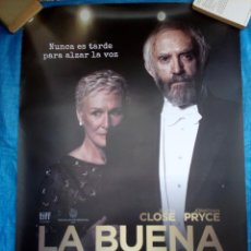 Cine: CARTEL CINE LA BUENA ESPOSA - GLENN CLOSE - JONATHAN PRYCE - 98X68. Lote 169223488