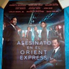 Cine: CARTEL CINE ASESINATO EN EL ORIENT EXPRESS - JOHNNY DEPP - 98X68. Lote 169225560