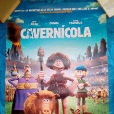Cine: CARTEL CINE CAVERNICOLA - ANIMACION - 98X68. Lote 169226252