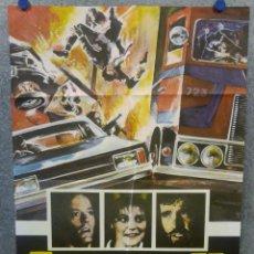 Cine: CONVOY II. PETER FONDA, JERRY REED, HELEN SHAVER AÑO 1978. POSTER ORIGINAL . Lote 169308016