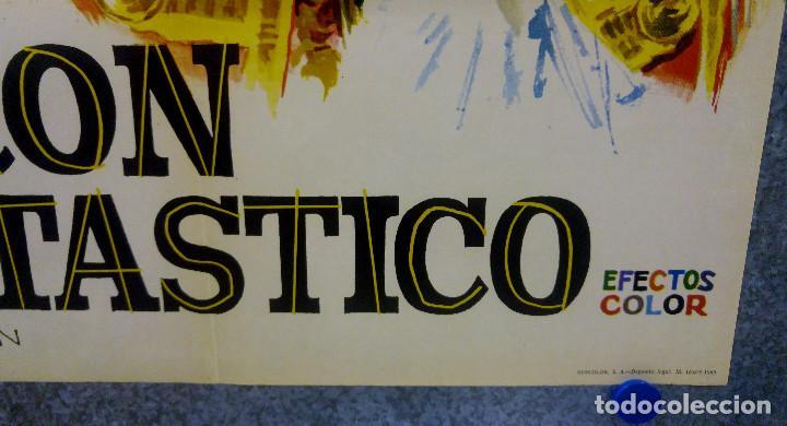 Cine: EL BARON FANTASTICO. MILOS KOPECKY, JANA BREJCHOVA. AÑO 1965 POSTER ORIGINAL - Foto 4 - 169309880