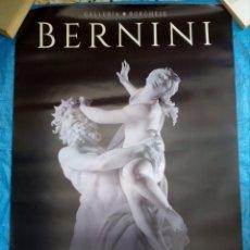 Cinema: CARTEL CINE BERNINI - EL ARTISTA QUE INVENTO EL BARROCO - 98X68. Lote 169310952