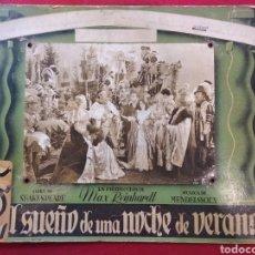 Cine: FOTOGRAFÍA PROMOCIONAL DE LA PELÍCULA EL SUEÑO DE UNA NOCHE DE VERANO (1935). SHAKESPEARE.. Lote 169397684
