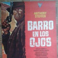 Cine: BARRO EN LOS OJOS. POSTER ESTRENO 70X100. ANTHONY STEFFEN. Lote 169591040