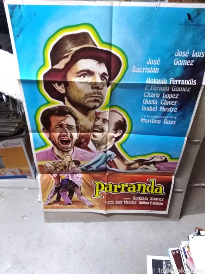 PARRANDA ANTONIO FERRANDIS POSTER ORIGINAL 70X100 YY (2096) (Cine - Posters y Carteles - Clasico Español)