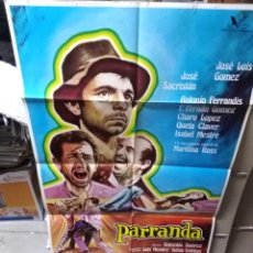 Cine: PARRANDA ANTONIO FERRANDIS POSTER ORIGINAL 70X100 YY (2096). Lote 169598857