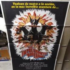 Cine: LOS IMPRESIONANTES DOBERMANS POSTER ORIGINAL 70X100 YY (2097). Lote 169599037