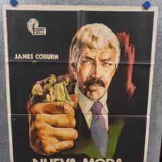 Cine: NUEVA MODA EN EL CRIMEN. JAMES COBURN, LEE GRANT, HARRY ANDREWS AÑO 1974 POSTER ORIGINAL. Lote 169671620