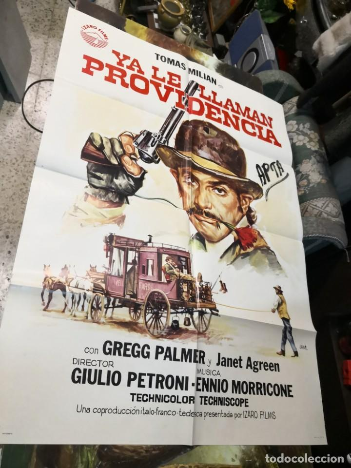YA LE LLAMAN PROVIDENCIA TOMAS MILIAN SPAGHETTI POSTER ORIGINAL 70X100 (Cine - Posters y Carteles - Westerns)