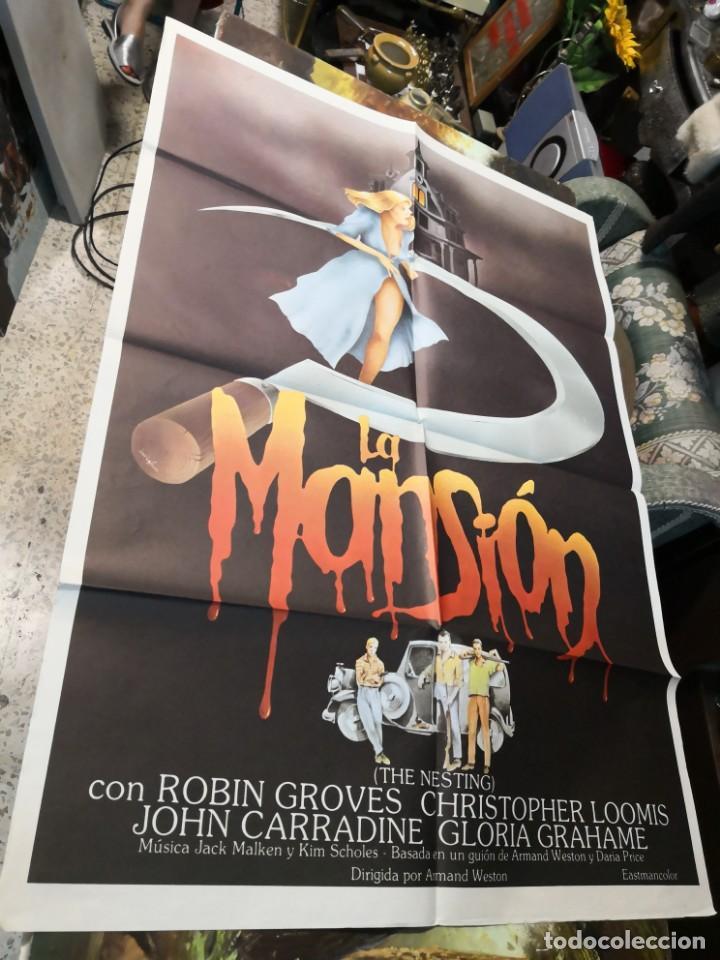 CARTEL DE CINE- MOVIE POSTER. LA MANSION. 70X100 CM (Cine - Posters y Carteles - Terror)