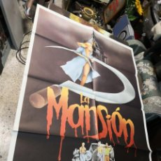 Cine: CARTEL DE CINE- MOVIE POSTER. LA MANSION. 70X100 CM. Lote 169706444