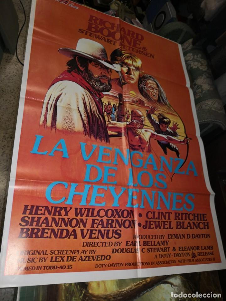 70X100 LA VENGANZA DE LOS CHEYENNES. CARTEL DE CINE-MOVIE POSTER (Cine - Posters y Carteles - Westerns)