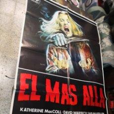 Cine: EL MAS ALLA L'ALDILA LUCIO FULCI POSTER ORIGINAL 70X100. Lote 187101058