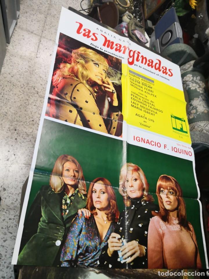 LAS MARGINADAS IQUINO ANALIA GADE DIANA LORYS SIMON ANDREU POSTER ORIGINAL 70X100 (Cine - Posters y Carteles - Suspense)