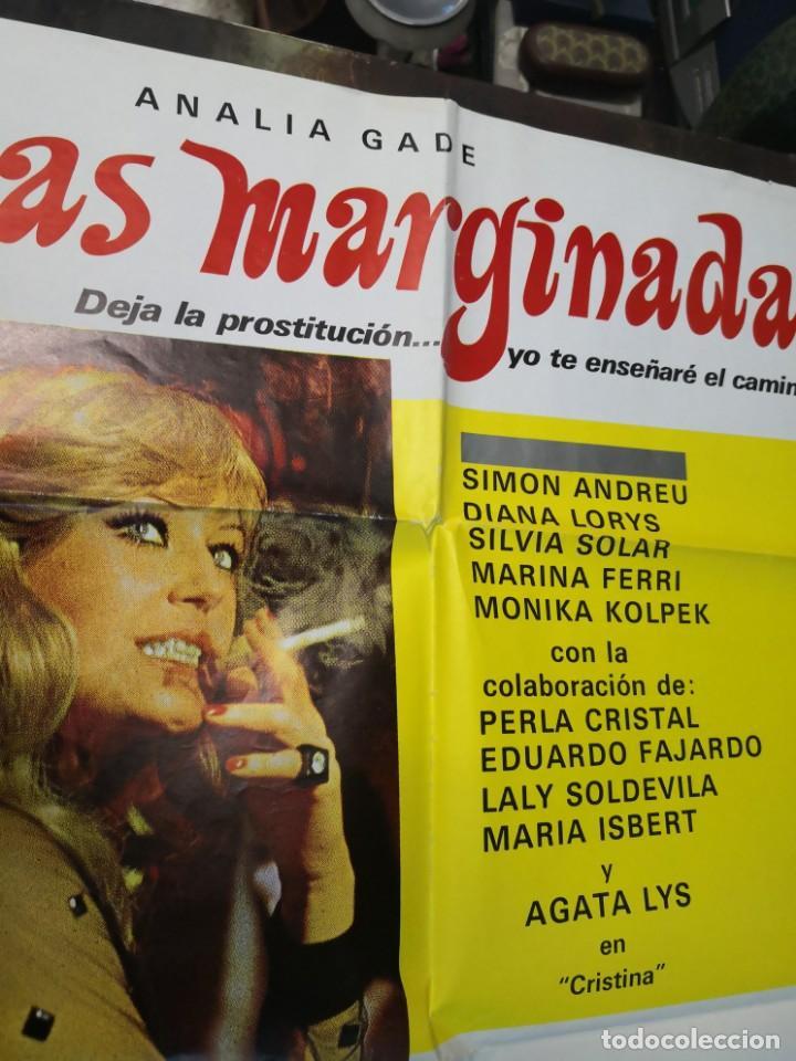 Cine: LAS MARGINADAS IQUINO ANALIA GADE DIANA LORYS SIMON ANDREU POSTER ORIGINAL 70X100 - Foto 3 - 169763784