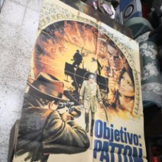 Cine: OBJETIVO PATTON - CARTEL POSTER ORIGINAL - SOPHIA LOREN JOHN CASSAVETES 2ª GUERRA MUNDIAL JOHN HOUGH. Lote 169764564