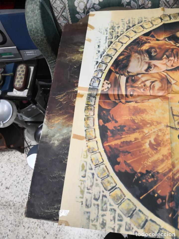 Cine: objetivo patton - cartel poster original - Sophia Loren John Cassavetes 2ª guerra mundial John Hough - Foto 4 - 169764564