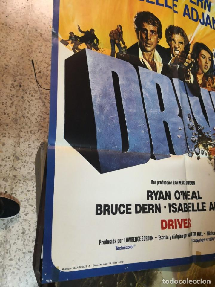 Cine: driver - poster cartel original - walter hill ryan o`neal isabelle adjani Bruce Dern - Foto 2 - 169769524