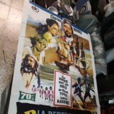 Cinéma: PÓSTER ORIGINAL LA REBELIÓN DE LOS BUCANEROS. Lote 169769724