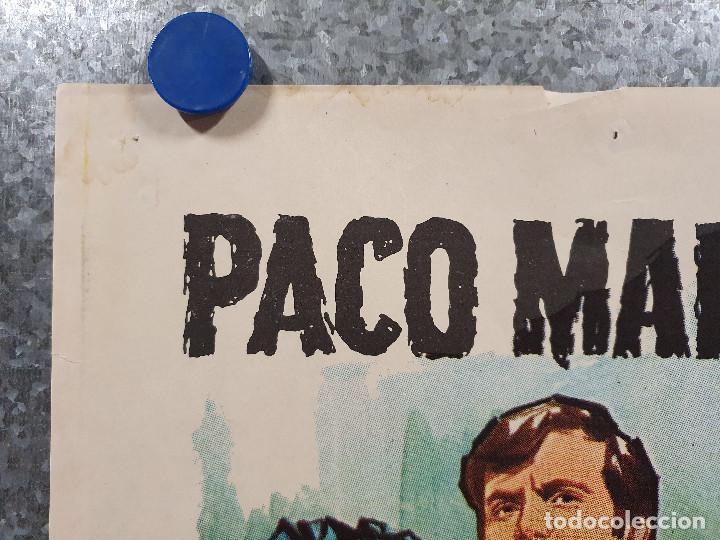 Cine: Don Erre que erre. Paco Martínez Soria, Mari Carmen Prendes AÑO 1970 POSTER ORIGINAL - Foto 2 - 169986712
