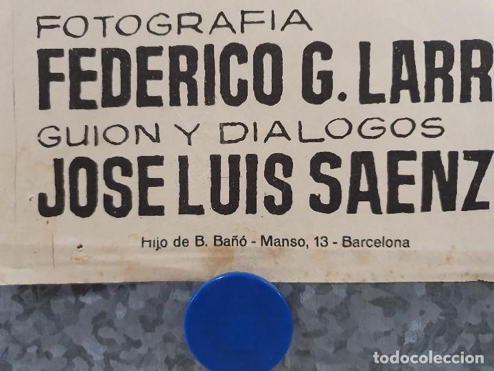Cine: Don Erre que erre. Paco Martínez Soria, Mari Carmen Prendes AÑO 1970 POSTER ORIGINAL - Foto 5 - 169986712
