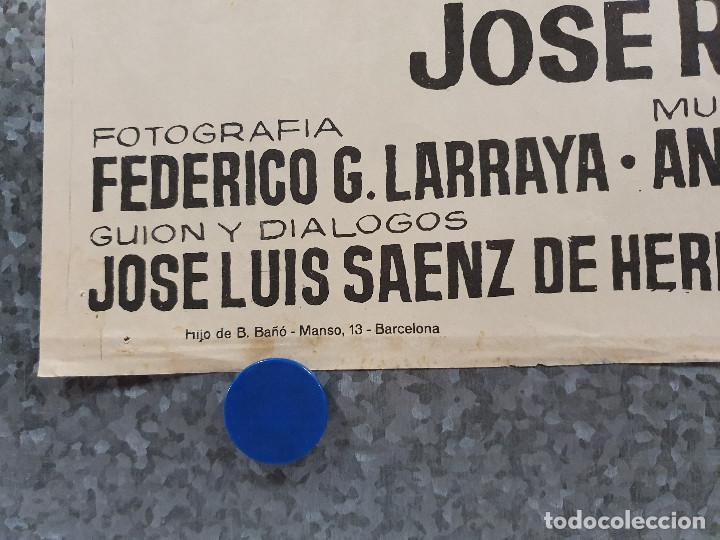 Cine: Don Erre que erre. Paco Martínez Soria, Mari Carmen Prendes AÑO 1970 POSTER ORIGINAL - Foto 6 - 169986712