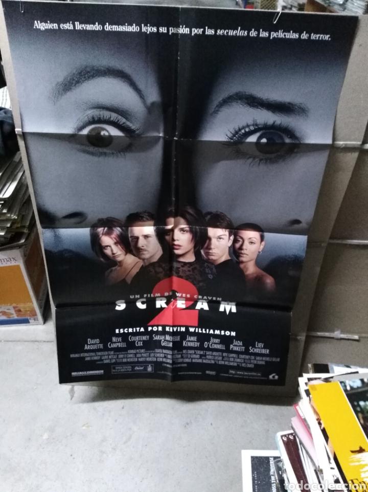 SCREAM 2 POSTER ORIGINAL 70X100 Q (Cine - Posters y Carteles - Terror)