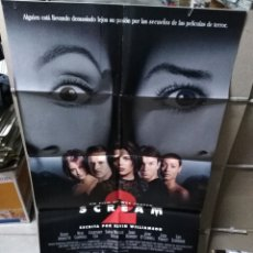 Cine: SCREAM 2 POSTER ORIGINAL 70X100 Q. Lote 170116349