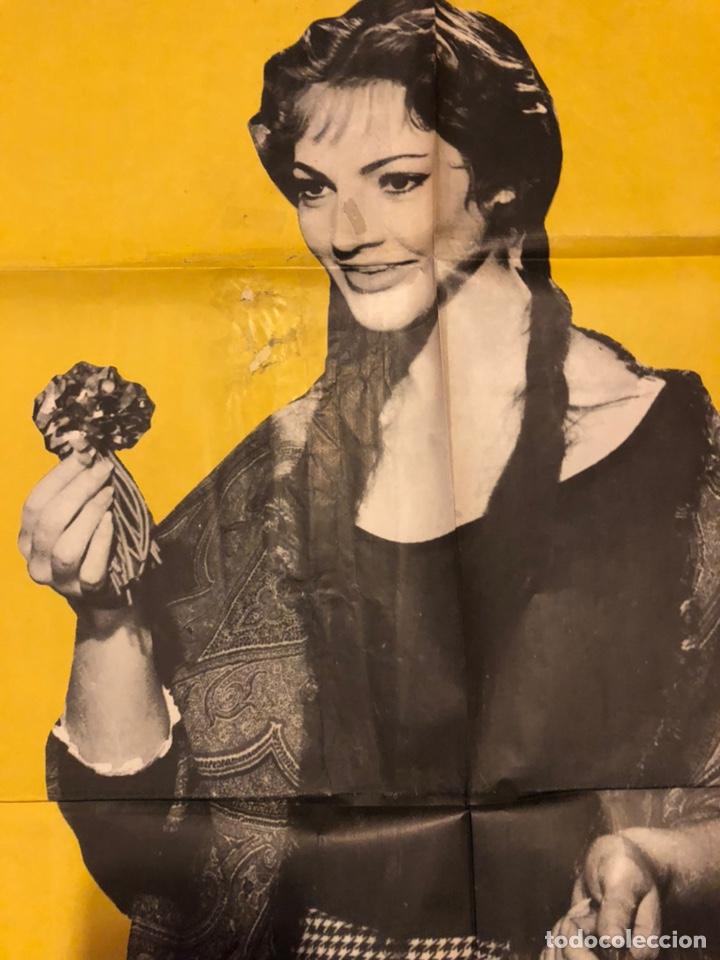 Cine: Cartel o poster la violetera.sara sarita Montiel - Foto 2 - 170155828
