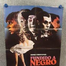Cine: FUNDIDO A NEGRO. DENNIS CHRISTOPHER, GWYNNE GILFORD, MICKEY ROURKE AÑO 1982. POSTER ORIGINAL. Lote 170210372