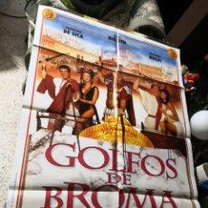 Cine: POSTER -- GOLFOS DE BROMA -- POSTER GRANDE -- ORIGINALES DE CINE --. Lote 170288872