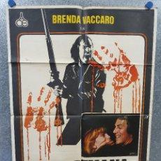Cine: FIN DE SEMANA SANGRIENTO. BRENDA VACCARO, DON STROUD, CHUCK SHAMATA AÑO 1977 POSTER ORIG. Lote 170289708